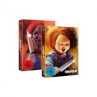 Chucky (Piece of Art Box / Teil 2+3 Combo) [FSK 18] [Blu-ray]