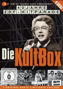 Das Beste aus der ZDF Hitparade mit Dieter Thomas Heck (4 DVDs) [Gebraucht - Zustand (Sehr Gut)]