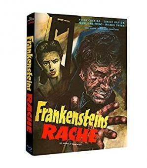 Frankensteins Rache (Limited Mediabook, Cover A) (1958) [Blu-ray]