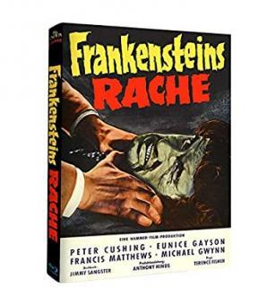 Frankensteins Rache (Limited Mediabook, Cover B) (1958) [Blu-ray]