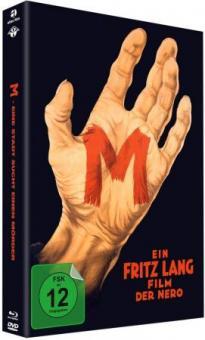M - Eine Stadt sucht einen Mörder (Limited Mediabook, Blu-ray+DVD) (1931) [Blu-ray]
