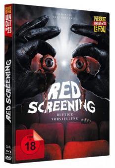 Red Screening - Blutige Vorstellung (Limited Mediabook, Blu-ray+DVD) (2020) [FSK 18] [Blu-ray]