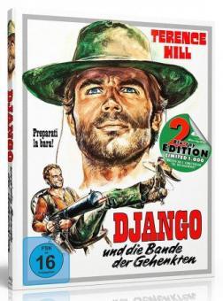 Django und die Bande der Gehenkten (Limited Mediabook, Blu-ray+DVD, Cover A) (1968) [Blu-ray]