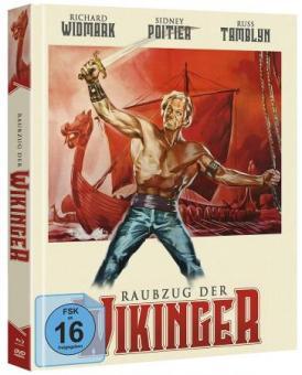 Raubzug der Wikinger (Limited Mediabook, Blu-ray+DVD) (1963) [Blu-ray]
