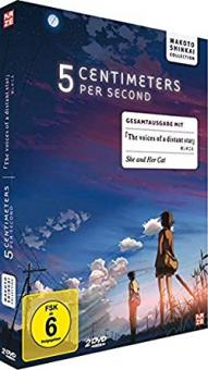 5 Centimeters per second / The Voices of a Distant Star - Box (2 DVDs) (2007) [Gebraucht - Zustand (Sehr Gut)]