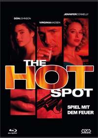 Hot Spot - Spiel mit dem Feuer (Limited Mediabook, Blu-ray+DVD, Cover E) (1990) [Blu-ray]