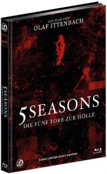 5 Seasons - Die fünf Tore zur Hölle (Limited Mediabook, Blu-ray+DVD, Cover B) (2015) [FSK 18] [Blu-ray]