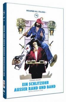 Ein Schlitzohr außer Rand und Band (Limited Mediabook, Blu-ray+DVD, Cover A) (1981) [FSK 18] [Blu-ray]