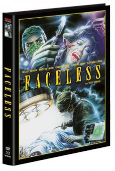 Faceless (Limited Wattiertes Mediabook, Blu-ray+DVD, Cover A) (1988) [FSK 18] [Blu-ray]