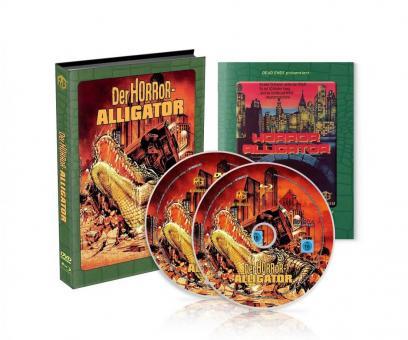 Der Horror-Alligator (Limited Wattiertes Mediabook, Blu-ray+DVD, 4 Discs) (1980) [Blu-ray]
