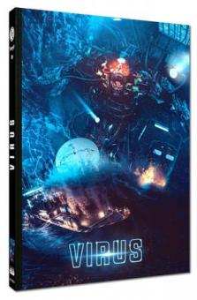 Virus (Limited Mediabook, Blu-ray+DVD, Cover B) (1999) [Blu-ray]