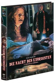 Die Nacht des Exorzisten (Limited Mediabook, Blu-ray+DVD, Cover A) (1975) [FSK 18] [Blu-ray]