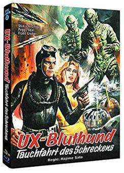 UX-Bluthund - Tauchfahrt des Schreckens (Limited Mediabook, Cover B) (1966) [Blu-ray]