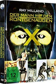 Der Mann mit den Röntgenaugen (Limited Mediabook, Blu-ray+DVD) (1963) [Blu-ray]