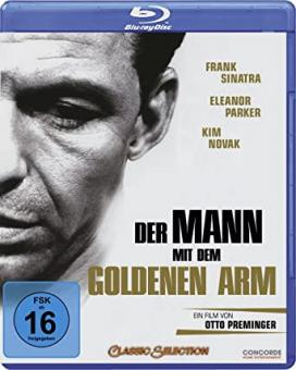 Der Mann mit dem goldenen Arm (1955) [Blu-ray] [Gebraucht - Zustand (Sehr Gut)]