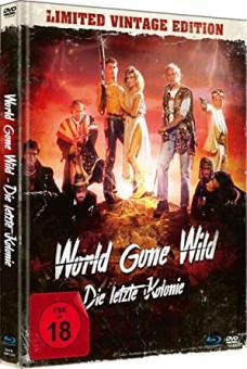 World Gone Wild - Die letzte Kolonie (Uncut Limited Vintage Mediabook mit Blu-ray+DVD, in HD neu abgetastet) (1987) [FSK 18] [Blu-ray]