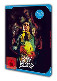 Baby Blood (Special Edition, 2 Discs) (1989) [FSK 18] [Blu-ray]