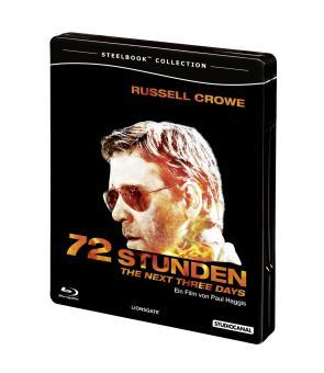 72 Stunden - The Next Three Days (Steelbook) (2010) [Blu-ray]