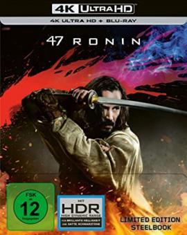 47 Ronin (4K Ultra HD+Blu-ray, Limited Steelbook) (2013) [4K Ultra HD]