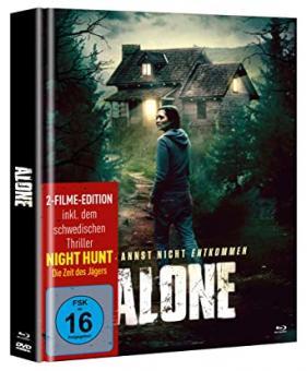Alone - Du kannst nicht entkommen (Limited Mediabook, 2 Discs) (2020) [Blu-ray]
