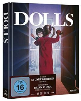 Dolls (Limited Mediabook, Blu-ray+DVD) (1987) [Blu-ray]