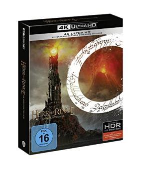 Der Herr der Ringe - Die Spielfilm Trilogie (Extended Edition) (9 Discs) [4K Ultra HD]