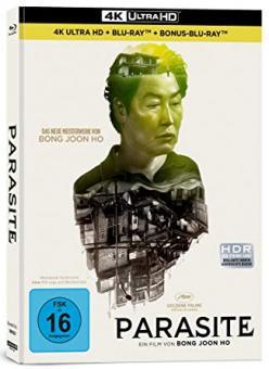 Parasite (Limited Mediabook, 4K Ultra HD+2 Blu-ray's, Cover B) (2019) [4K Ultra HD]
