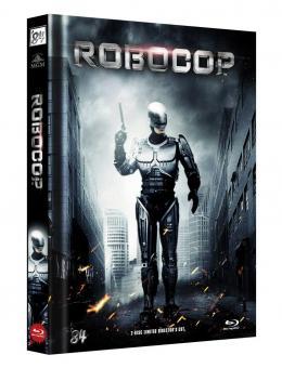 Robocop - Directors Cut (Limited Mediabook, Blu-ray+DVD, Cover B) (1987) [FSK 18] [Blu-ray]