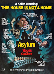 Asylum (Limited Mediabook, Blu-ray+DVD, Cover E) (1972) [FSK 18] [Blu-ray]