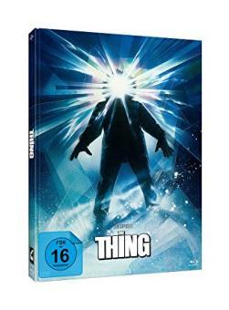 The Thing - Das Ding aus einer anderen Welt (Limited Mediabook, Blu-ray+2 DVDs, Cover Struzan) (1981) [Blu-ray]
