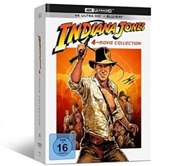 Indiana Jones The Complete Adventures (4K Ultra HD+Blu-ray, 9 Discs) [4K Ultra HD]