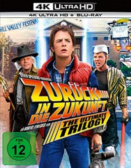 Zurück in die Zukunft - Trilogie (4K Ultra HD+Blu-ray, 7 Discs) [4K Ultra HD]