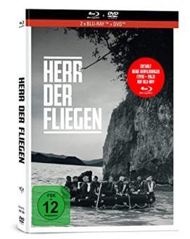 Herr der Fliegen (1990+1963) (3 Disc Limited Mediabook, 2 Blu-ray's+DVD) (1990) [Blu-ray]