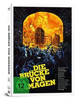 Die Brücke von Remagen (3 Disc Limited Mediabook, Blu-ray+DVD) (1969) [Blu-ray]