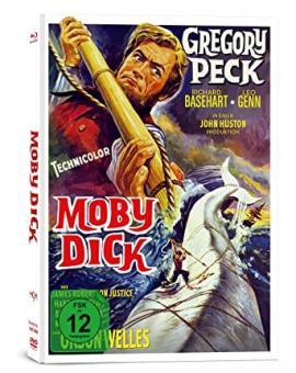 Moby Dick (Limited Mediabook, 2 Blu-ray's+DVD) (1956) [Blu-ray]