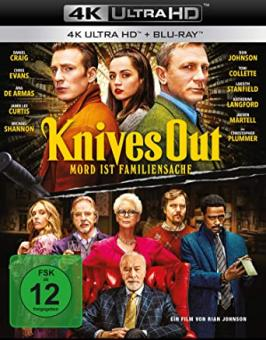 Knives Out - Mord ist Familiensache (4K Ultra HD+Blu-ray) (2019) [4K Ultra HD]