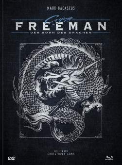 Crying Freeman - Der Sohn des Drachen (Limited Mediabook, Blu-ray+DVD, Cover A) (1995) [FSK 18] [Blu-ray]