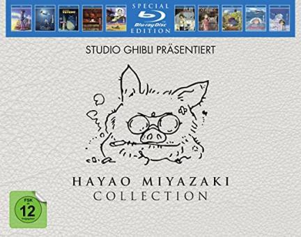 Hayao Miyazaki Collection (10 Discs) [Blu-ray]