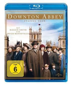 Downton Abbey - Staffel 5 (3 Discs) [Blu-ray]