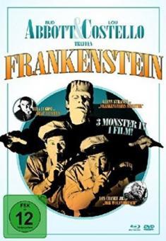 Abbott und Costello treffen Frankenstein (Limited Mediabook, Blu-ray+DVD) (1948) [Blu-ray]