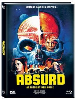 Absurd (Limited Mediabook, Blu-ray+DVD, Cover B) (1981) [FSK 18] [Blu-ray]