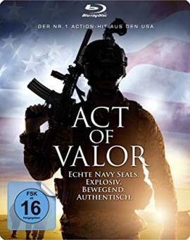 Act of Valor (Limited Steelbook) (2012) [Blu-ray] [Gebraucht - Zustand (Sehr Gut)]