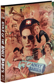 Attack of the Adult Babies (Limited Mediabook, Blu-ray+DVD, Cover B) (2017) [FSK 18] [Blu-ray]