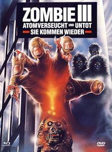 Zombie 3 (Limited Mediabook, Blu-ray+DVD, Cover B) (1988) [FSK 18] [Blu-ray]
