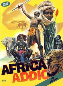 Africa Addio (Limited Mediabook, Blu-ray+DVD, Cover A) (1966) [FSK 18] [Blu-ray]