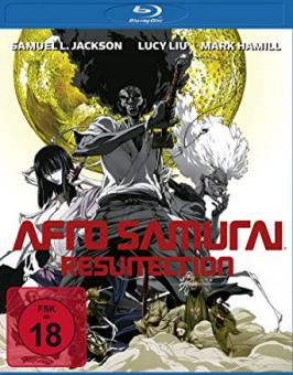 Afro Samurai - Resurrection Director's Cut (inkl. Wendecover) (2009) [FSK 18] [Blu-ray]