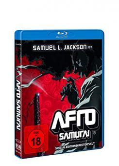 Afro Samurai - Director's Cut (inkl. Wendecover) (2007) [FSK 18] [Blu-ray]