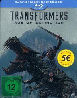 Transformers 4: Ära des Untergangs (Limited Steelbook, 3D Blu-ray+Blu-ray) (2014) [3D Blu-ray]