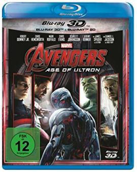 Avengers - Age of Ultron (3D Blu-ray+Blu-ray) (2015) [3D Blu-ray]