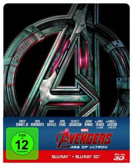 Avengers - Age of Ultron (Limited Steelbook, 3D Blu-ray+Blu-ray) (2015) [3D Blu-ray]